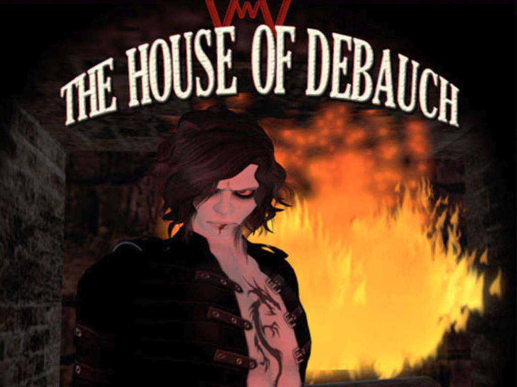 Go back in time with House of Debauch: Digital Art Goes Platinum's video poster