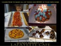 Lafayette Cafe Cookbook