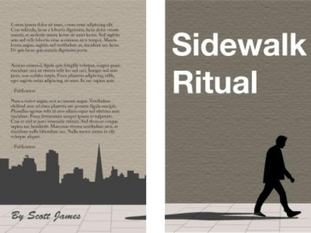 Sidewalk Ritual, the novel: A Social Publishing Project's video poster