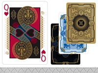 RongoRongo 3 Playing Cards USPCC Bicycle Moai