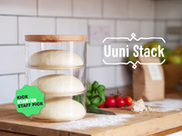 Uuni Stack - A clever way to prove dough & store ingredients
