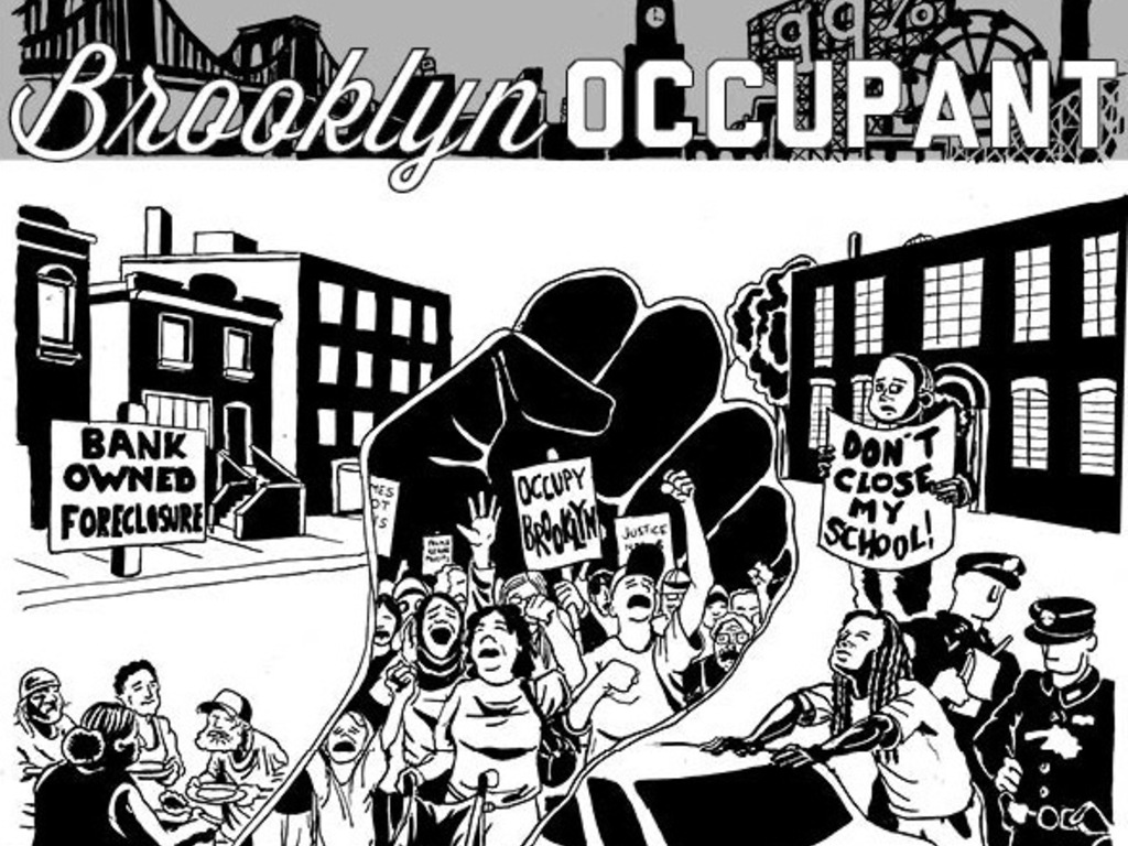 Brooklyn Occupant -- The Newspaper's video poster