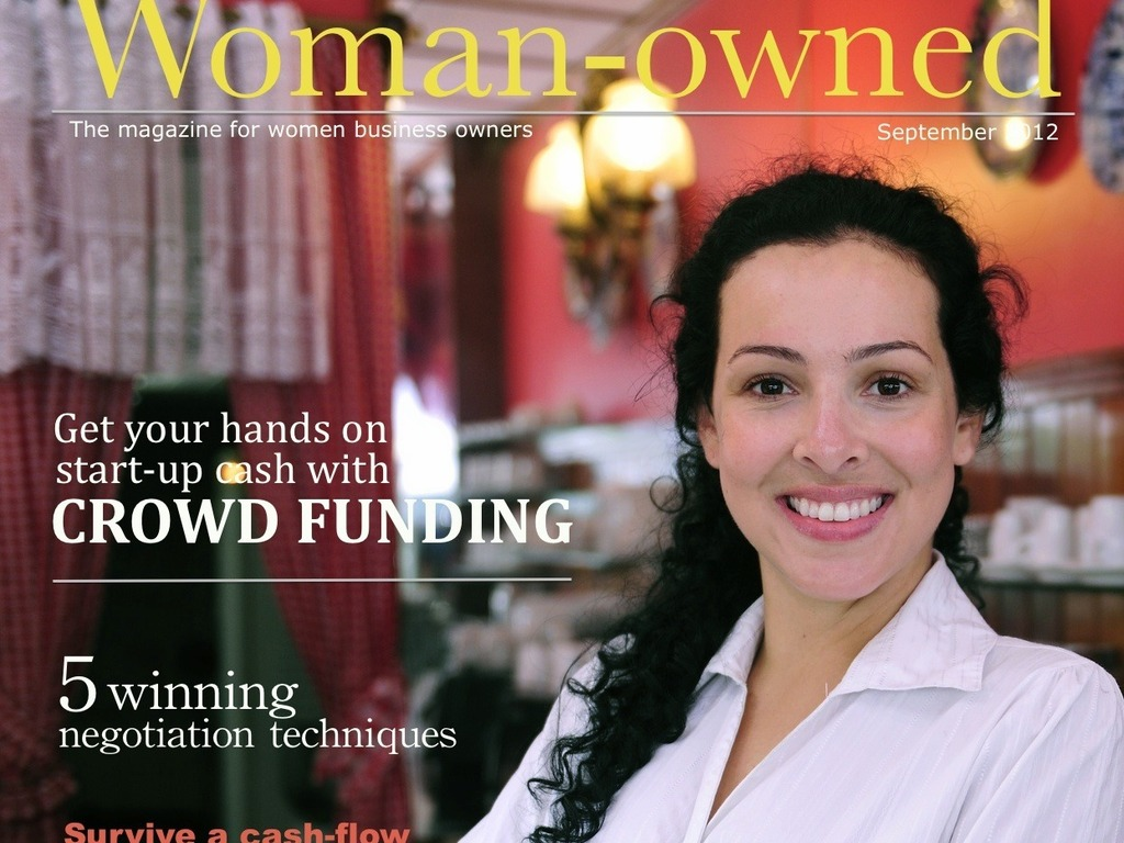 Woman-owned:  The magazine for women business owners's video poster