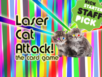 Laser Cat Attack! the card game