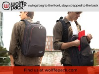 wolffepack: swings to the front, stays strapped to your back