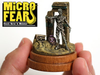 MICROFEAR - Tiny dioramas based on iconic horror scenes