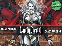 BRIAN PULIDO'S NEW LADY DEATH: CHAOS RULES #1 GRAPHIC NOVEL!
