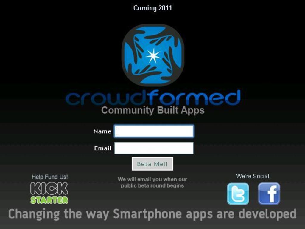 CROWDFORMED.COM, Community Developed Apps's video poster