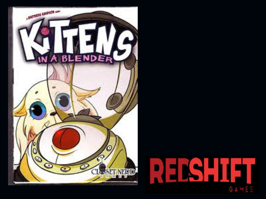 Kittens in a Blender: The Card Game's video poster