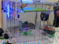 "Stingray 3D Printer - Laser Cutter -  16"" Massive Build Area"