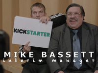 Mike Bassett: Interim Manager - Make the new film a reality!