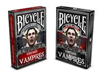 Vintage Vampire Bicycle Playing Cards