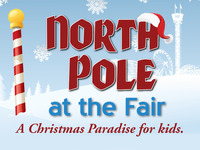 The North Pole at the Fair - A Christmas Paradise for kids.