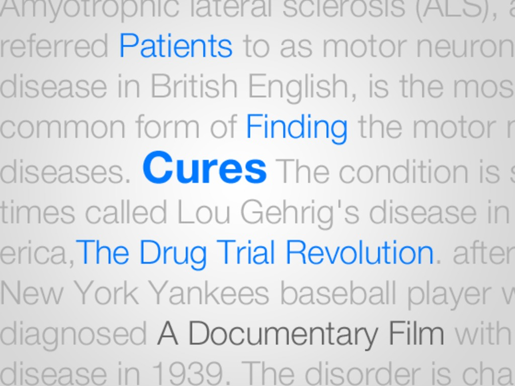 Patients Finding Cures: The Drug Trial Revolution's video poster