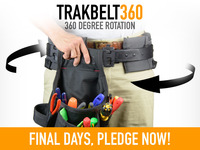 TRAKBELT360™: Take Your Tools For A Spin