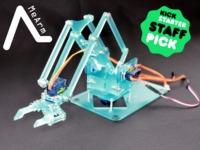 MeArm - Pocket Sized Industrial Robotics for Everybody