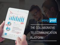 VoxyPAD - Innovative App for Collaborative Telecommunication