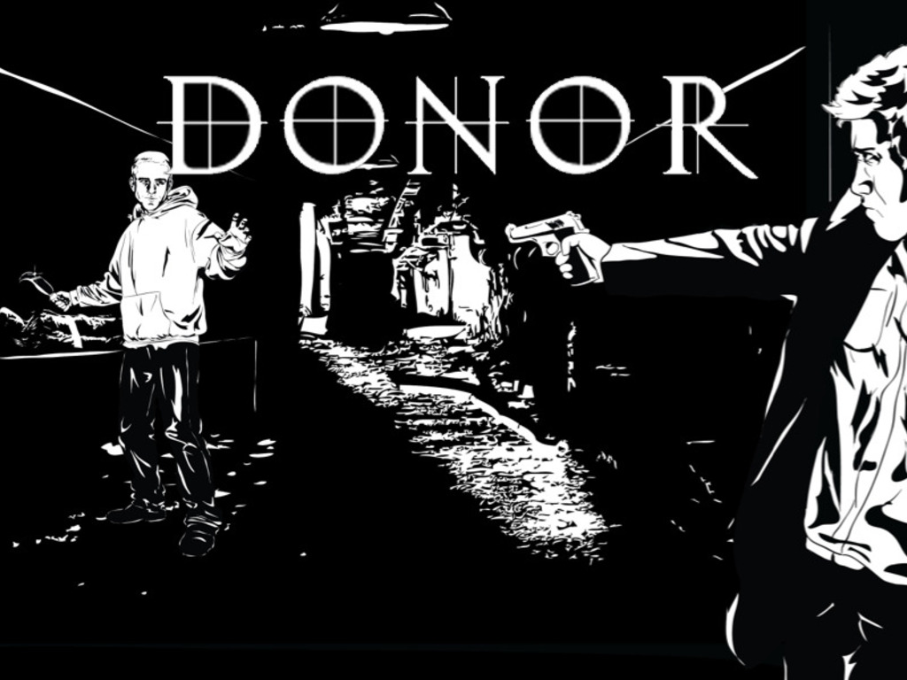 DONOR:  A KILLER HORROR STORY AND GRAPHIC NOVEL SET IN N.E.'s video poster