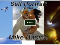 Selfportrait Book by Mike Basich