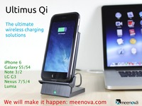 Ultimus Qi: Wireless Charging for iPhone 6 Galaxy S Note G3
