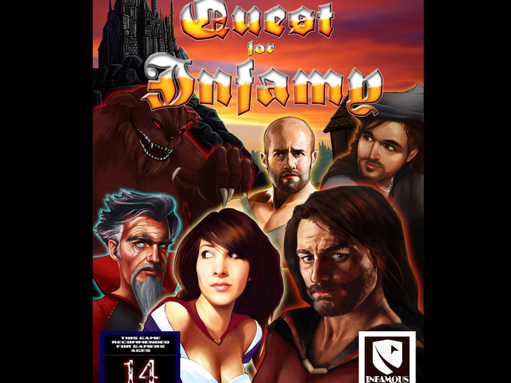 Quest For Infamy - An Adventure Game By Infamous Quests's video poster