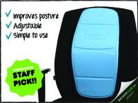 Backboard™: Improve posture and comfort when sitting