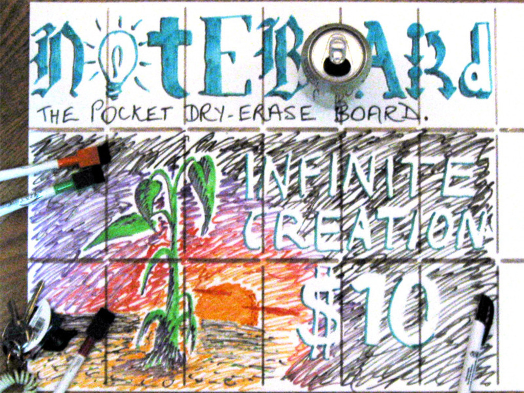 The Noteboard's video poster