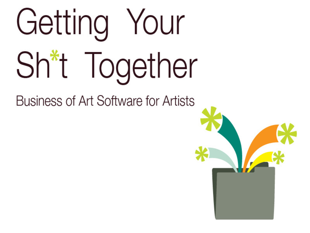 Getting Your Sh*t Together: Business of Art Software for Artists's video poster
