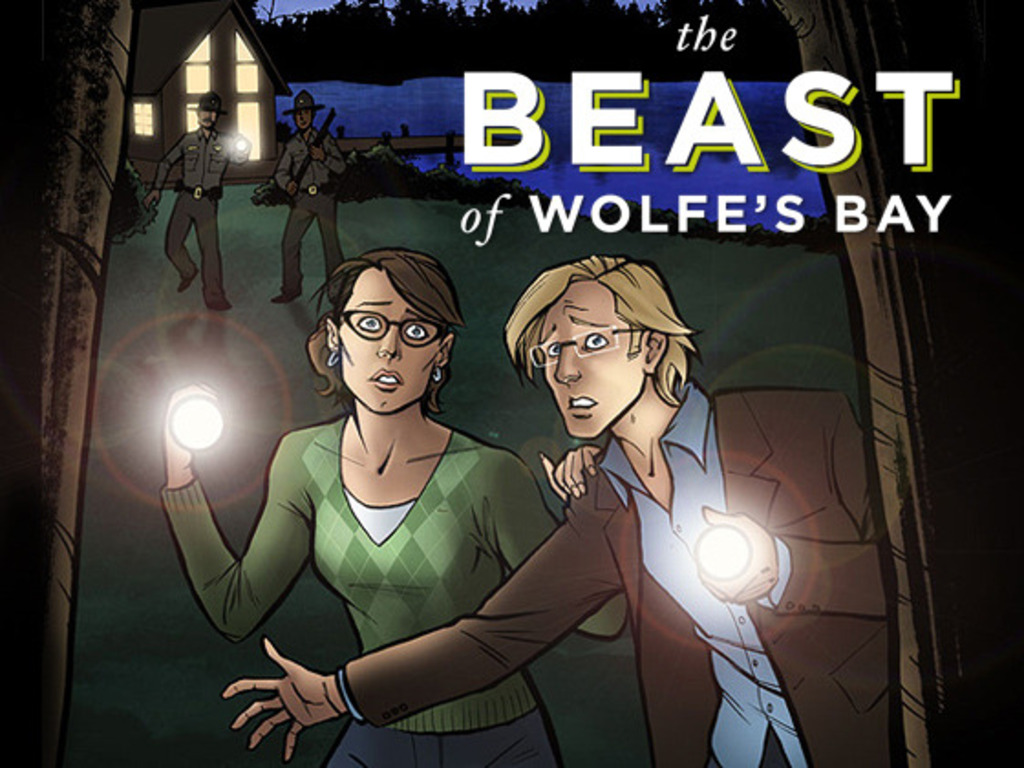 The Beast of Wolfe's Bay: Graphic Novel's video poster