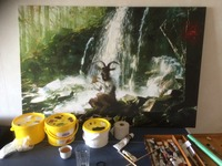 Photo magic - Oil painted photography