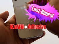 KaVii Adhesive-Stick your Smartphone and Tablet on the WALL