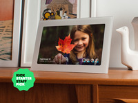 Fireside: A SmartFrame That Shows You Photos You Want To See