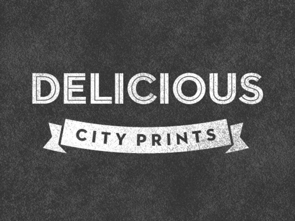 Delicious City Prints's video poster