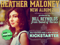 HEATHER MALONEY - NEW ALBUM 2015