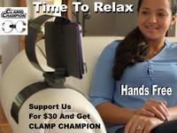 Clamp Champion - iPad Tablet Holder/Mount