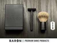 BARON Shave Kit - The Last Razor You Will Ever Need
