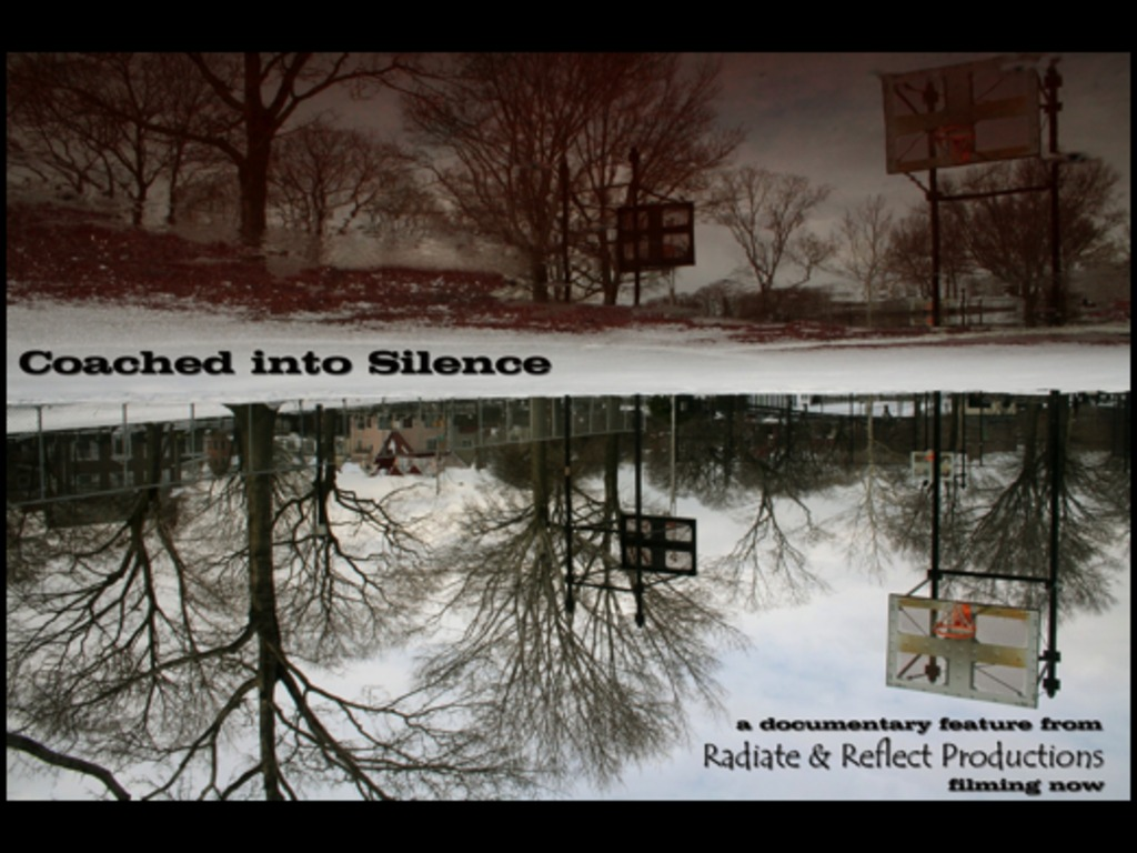 Coached into Silence, documentary feature film's video poster
