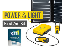 WakaWaka Base: a Power & Light First Aid Kit