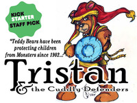 Tristan and the Cuddly Defenders Teddy Bear Adventure Comic
