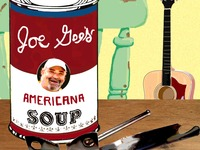 "Finish Joe Gee's next CD, ""Americana Soup"""