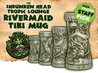 Shrunken Head Tropic Lounge Rivermaid Tiki Mug