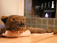 Griz Rug: A totally realistic and totally fake bear rug