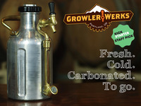 The uKeg Pressurized Growler for Fresh Beer