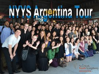 New York Youth Symphony Tour to Argentina