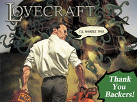Lovecraft: The Blasphemously Large First Issue