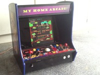 My Home Arcade! Classic video games like Pac Man Donkey Kong