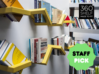 360 SHELF: Adjustable shelving display