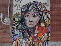 Reincarnation of defaced murals