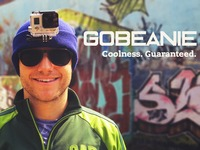 GoBeanie - the perfect beanie to mount your GoPro camera