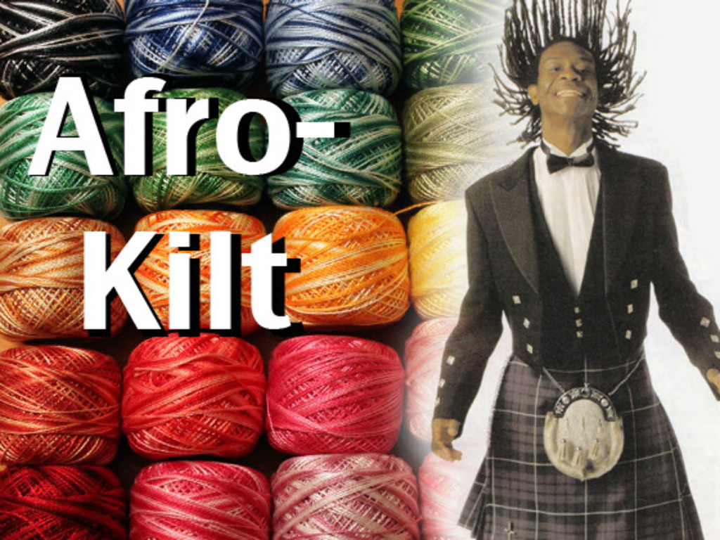 """""""Afro-Kilt : The Thread That Binds"""" Documentary's video poster"""